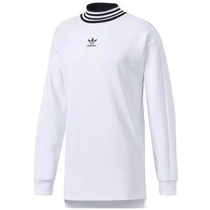 Adidas Originals Trefoil Mock Neck Sweatshirt